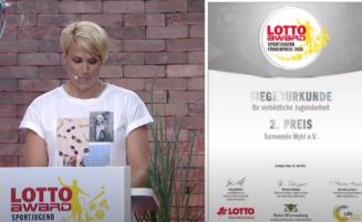 TV Wyhl wird 2 Sieger beim Lotto Sportjugend-Förderpreis